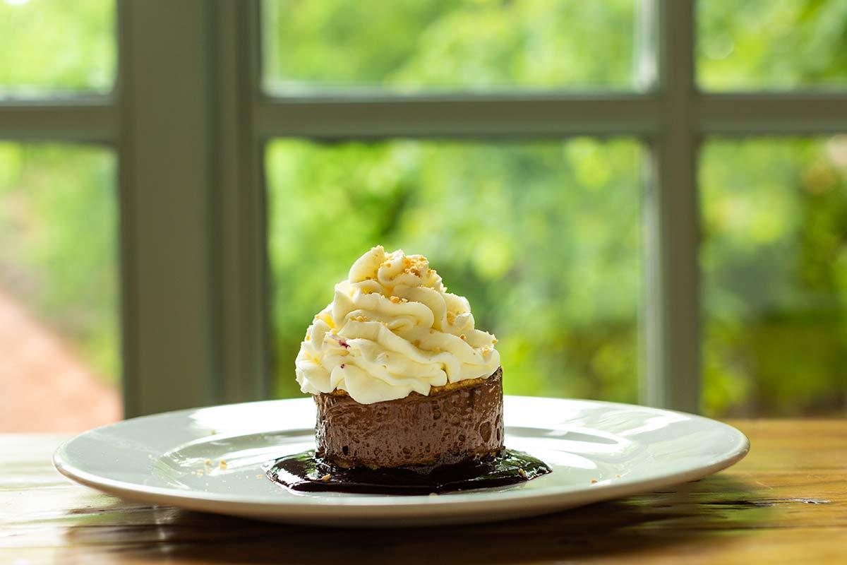 Chocolate Delight, desert la restaurnatul Casa Boema din Cluj-Napoca