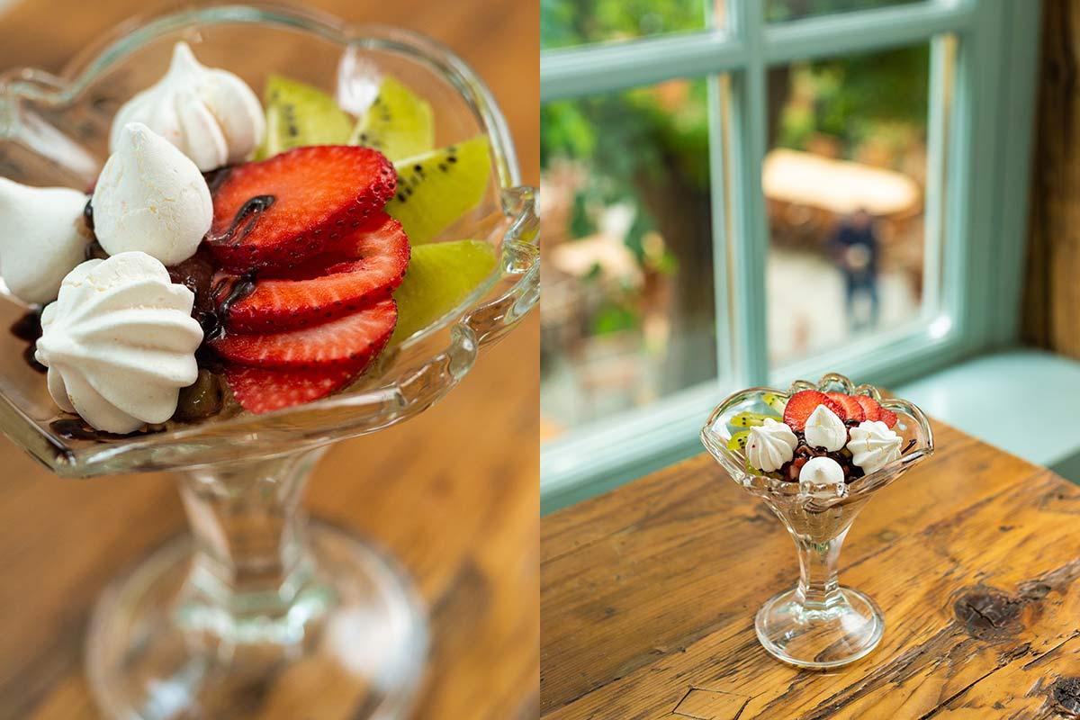 Desert de vară la restaurantul Casa Boema din Cluj-Napoca