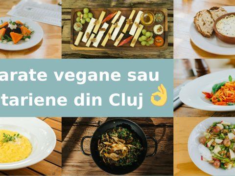 Meniu vegan și vegetarian de la restaurantul Casa Boema din Cluj-Napoca