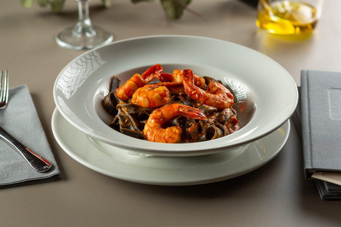 TAGLIATELLE NERO DI SEPIA - restaurantul Casa Boema, Cluj-Napoca
