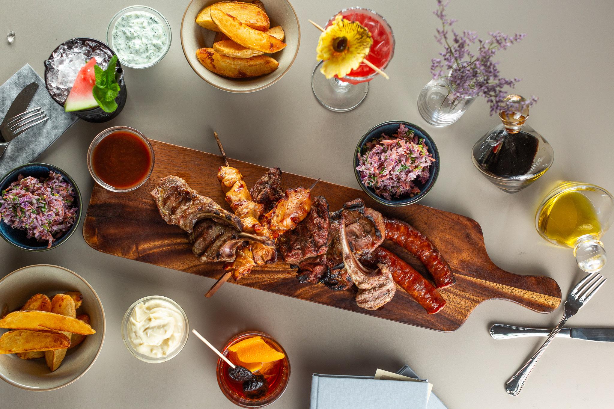PLATOU GRILL (PENTRU 4 PERSOANE) - restaurantul Casa Boema, Cluj-Napoca